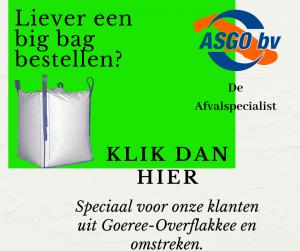 Big bag bestellen bij ASGO BV.